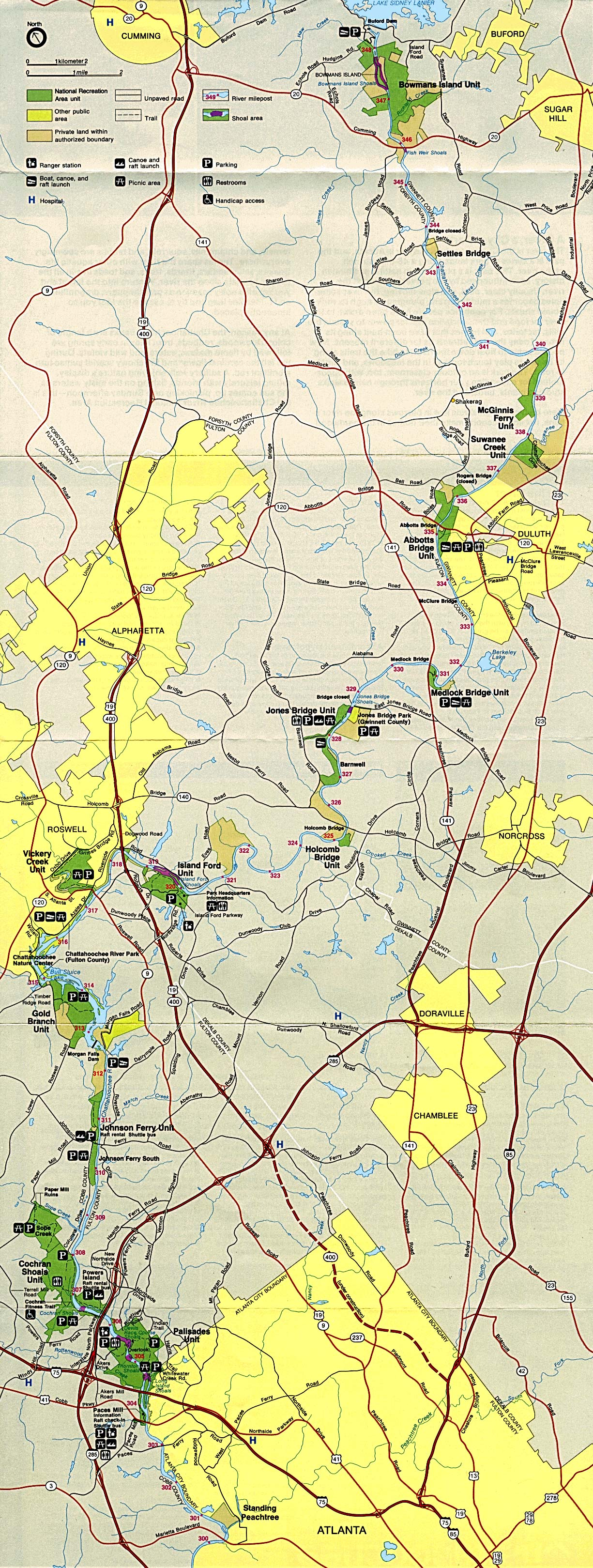 North Georgia Trout Online Maps - Georgia maps